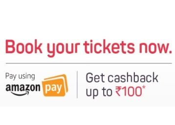 Grab Cashback Upto Rs.100 With Amazon Pay