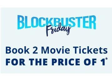 Book 2 Movie Ticket At Price Of 1 Movie Ticket