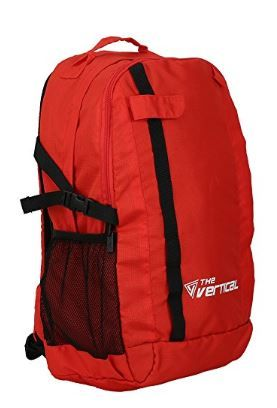 The Vertical 24 Ltrs Red Casual Backpack on 69% OFF