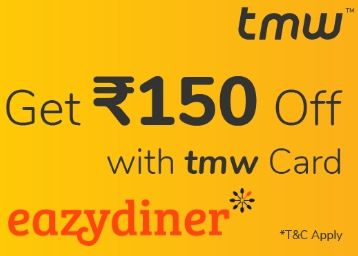 Flat Rs.150 off on Min Transaction of Rs.300 Via TMW Prepaid Virtual / Physical Card