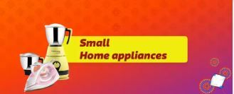 Upto 65% Off on Small Hoom Appliances From Rs.275