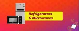Upto 65% Off on Refrigerator And Microwave From Rs.3199