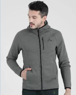 Alcis Full Sleeve Solid Men Jacket on 60% OFF