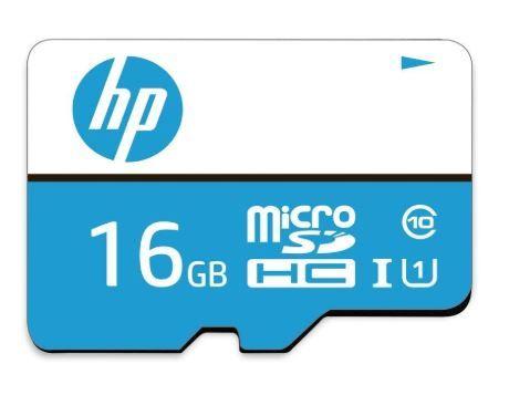 HP 16GB Class 10 MicroSD Memory Card at Just Rs. 279