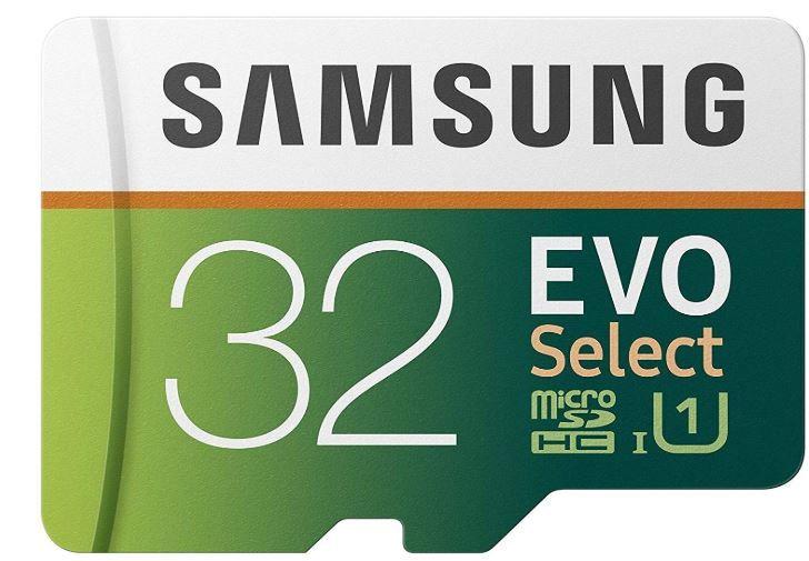 Flat 68% Off - Samsung 32GB 95MB/s EVO Select Micro SDHC