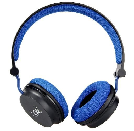 Boat Super Bass Rockerz 400 Bluetooth On-Ear Headphones with Mic at Rs. 999