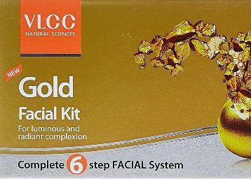 VLCC Gold Facial Kit, 60g + Free (white & bright glow gel creme 20g) on 60%OFF