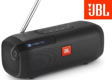 JBL Tuner Portable Bluetooth Speaker (Black, Stereo Channel) At Rs.3999