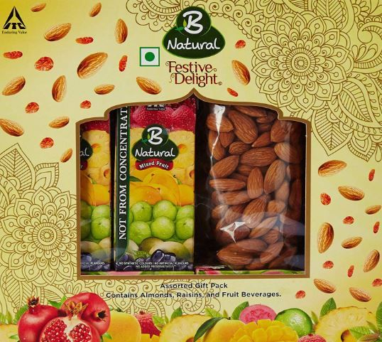 Flat 65% Off On B Natural Festive Delight Dry Fruit Gift Pack