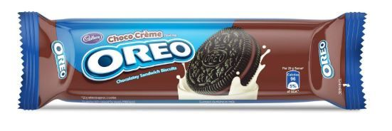 Cadbury Oreo Chocolate Crème Biscuit, 120 g at Just Rs. 15