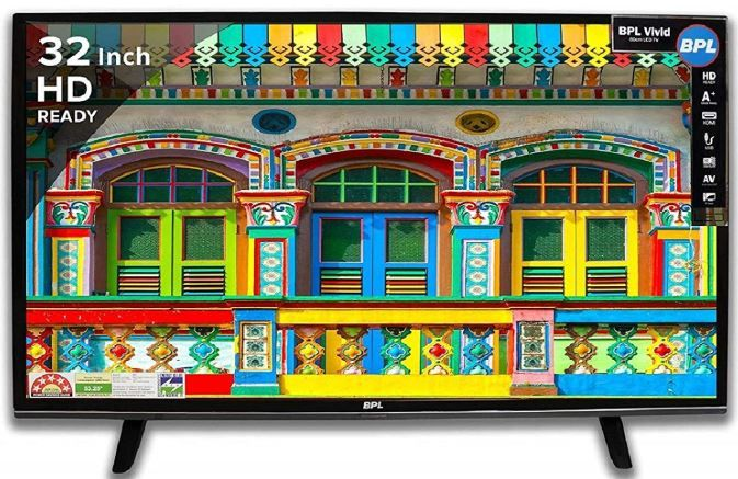 Flat 52% Off On BPL 80 cm (32 inches) HD Ready LED TV + 10% HDFC Offer