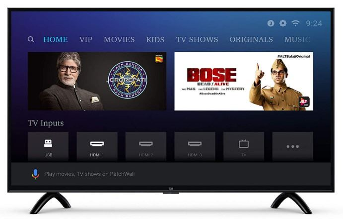 Mi LED TV 4C PRO 80 cm (32) HD Ready Android TV at Just Rs. 12599