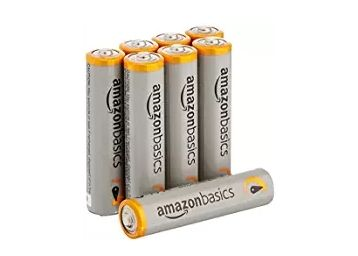 AmazonBasics AAA Performance Alkaline Non-Rechargeable Batteries (8-Pack) - Packaging at Just Rs. 179