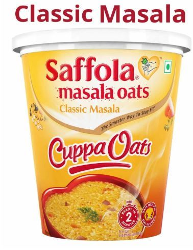 Saffola Classic Masala Cuppa Oats 39 gm at Just Rs. 25