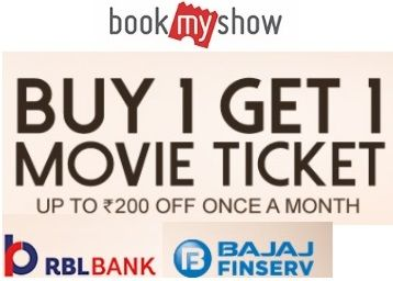 Buy 1 Get 1 Movie Ticket Free With RBL Bank
