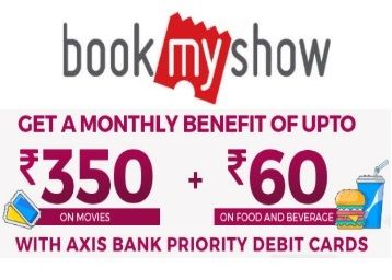 Grab Upto Rs.410 Off On Movies & Food Combos