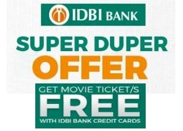 Get Free Movie Ticket With IDBI Bank Offer