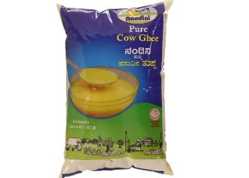 Nandini Pure Ghee, 1L (Pouch) at Just Rs. 372 [ Max. 4 Units ]