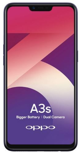 OPPO A3s (Purple, 2GB RAM, 16GB Storage) with 25% Off Offers