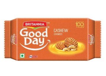 Flat 33% OFF:- Britannia Good Day Cashew, 200g [ Max. 10 Units ]