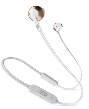 JBL T205BT Pure Bass Wireless Metal Earbud Headphones  on 33% off + 10% Amazon cashback