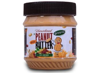 Happilo All Natural Creamy Peanut Butter, 350g on 15% off + 20% Coupon