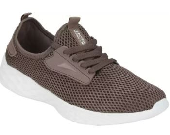 Athleisure Range Sports Walking Shoes For Men (Brown) on 71% off
