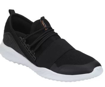 Athleisure Range Sports Walking Shoes For Men (Black) on 71% off