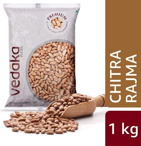 Amazon Brand - Vedaka Premium Chitra Rajma, 1kg on 56% off