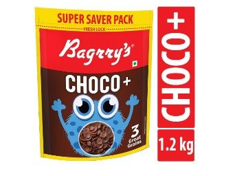 Bagrrys Choco with 3 Great Grains, 1200g At Rs.212