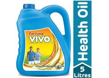 Fortune Vivo Diabetes Care Oil Jar, 5L At Rs.498