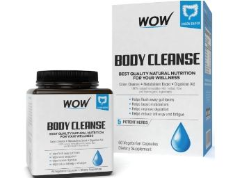 Flat 65% Off + 15% Code: Wow Body Cleanse - 60 Count Rs. 174 + Free Shipping