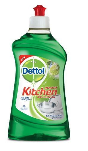 Dettol Kitchen Dish and Slab Gel - 400 ml (Lime Splash) on 11% Off and 30% Coupon