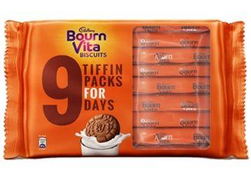 Cadbury Bournvita Biscuits Tiffin Pack,250g at Just Rs. 50