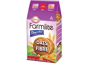 Sunfeast Farmlite Digestive Oats with Raisins Biscuits, 150g at Rs. 42