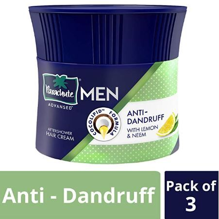 Apply 20% - Parachute Advansed Men Hair Cream, Anti-Dandruff, 100 gm (Pack of 3)