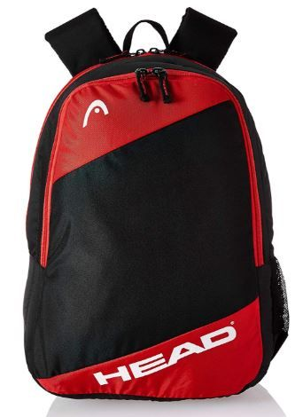 HEAD 21.9375 Ltrs Black School Backpack on 76% Off + Apply 10% Coupon