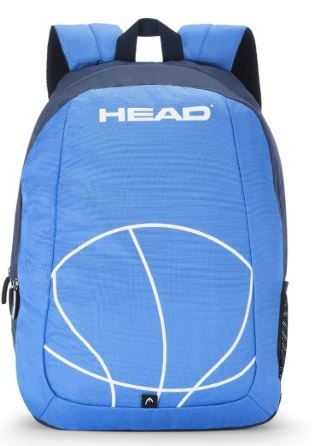 HEAD Dribble 20 Ltrs Light Blue Laptop Backpack on 70% off + Apply 10% Coupon