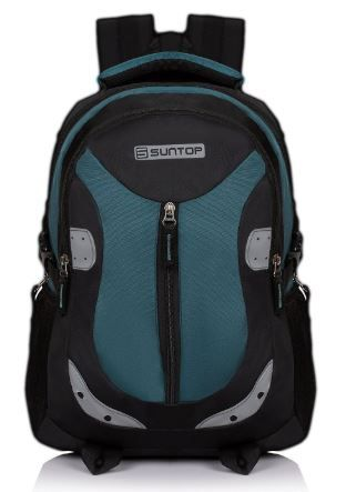 Suntop Neo 9 26 Ltrs Black & Blue Casual Backpack on 55% off