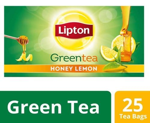 Lipton Honey Lemon Green Tea Bags, 25 Pieces on 28% off
