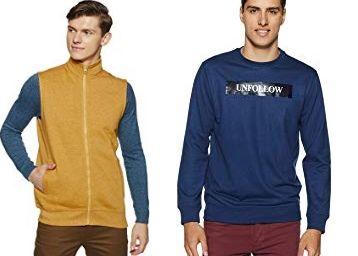 Upto 80% Off On Jackets ,Sweatshirts & Hoodies & More