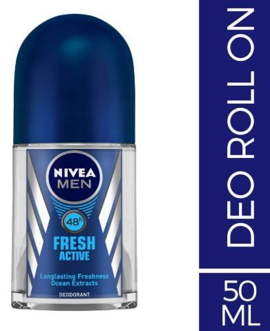 Nivea Deo Fresh Active Roll On, 50ml on 30% off