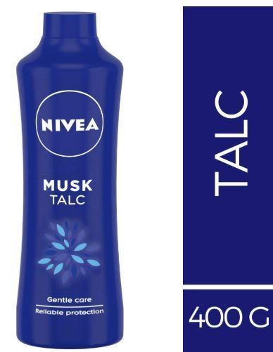 Nivea Musk Talc, 400g on 30% off