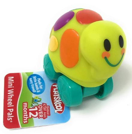 Playskool Mini Wheel Pals Turtle, Yellow on 60% off