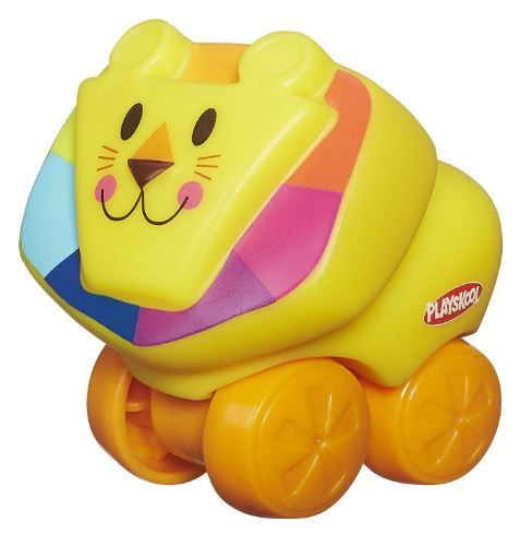 Playskool Mini Wheel Pals Lion, Yellow on 59% off