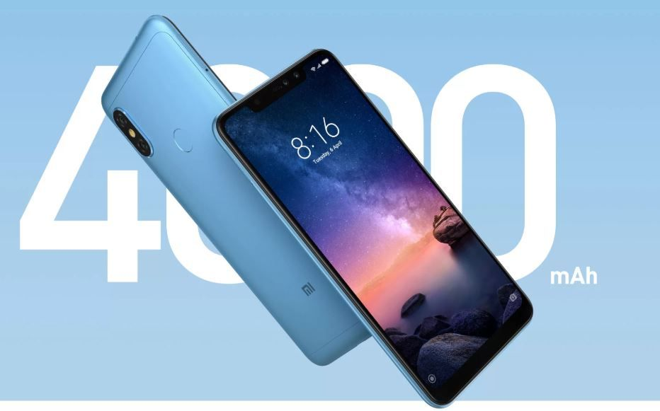Redmi Note 6 Pro from Rs.10999