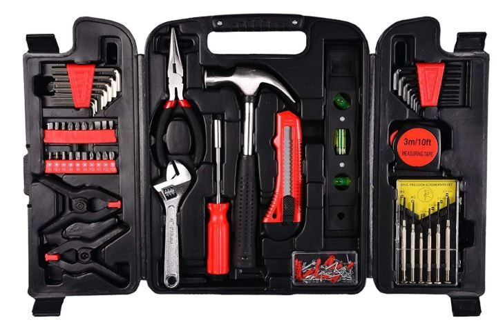 Visko Household Hand Tool Set (132-Pieces) at 50% off