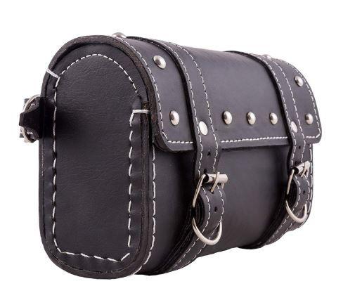 Flat 78% off on Autofy Universal Side Bag (Black)