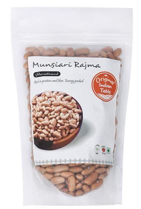 Apply 25% coupon - Original Indian Table Munsiari Rajma, White, 400g