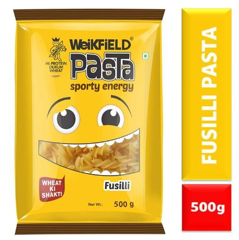 Flat 40% off on Weikfield Pasta, Fusilli, 500g
